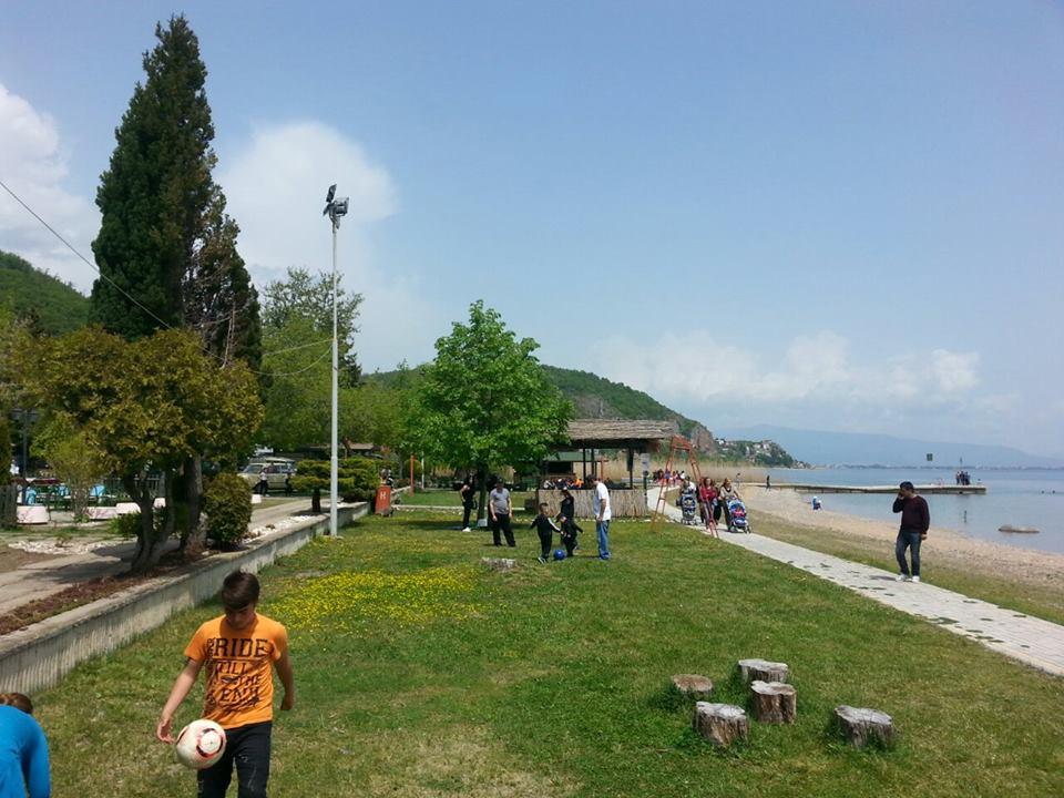 Livadista plaza kamp lugje semejstvo rekreacija